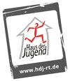 """Stempel"" des Logos des Hauses der Jugend, in leicht gedrehter Version"